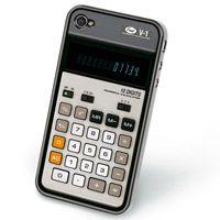 Calculator iPhone Cover  http://www.retroplanet.com/PROD/36233