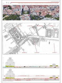 Estas son las propuestas que compiten para remodelar la Plaza España en Madrid,Con mesura. Image © Difusión Ayuntamiento de Madrid