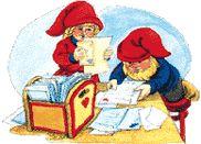 Santa Claus' elves