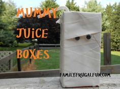 """I added """"Mummy Juice Boxes-Halloween Craft - Another Cent Saved"""" to an #inlinkz linkup!http://www.anothercentsaved.com/mummy-juice-boxes-halloween-craft/"""