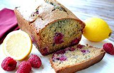 Healthy Raspberry Lemon Loaf