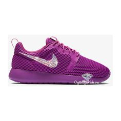 60db49a04dced9 Nike Roshe One Hyper Breathe Women s Shoe Made With Swarovski Xirius...  ( 159) ❤ liked on Polyvore featuring shoes