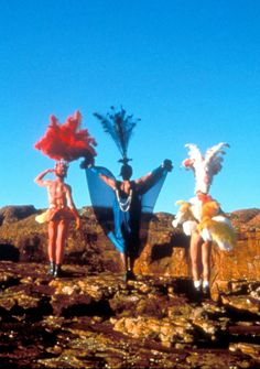 The Adventures of Priscilla, Queen of the Desert:  Loved this movie & the soundtrack was great too!