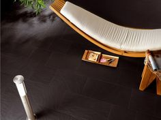 Wall/floor tiles for indoors and outdoors PERCORSI STYLE Ardesia Nera In Collection by CERAMICHE KEOPE