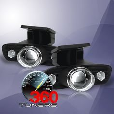 GMC Yukon Sierra Halo Projector Fog Lights