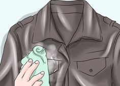 6f85027da4b 3 Ways to Clean a Leather Jacket - wikiHow
