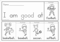 Primer Sight Word Flip Books (color and black and white) with a response / recording sheet for each word. These flip books are such a fun way for children to practice reading high frequency words! They are also a great paper saving alternative to traditional readers as each booklet uses only 1 piece of paper!