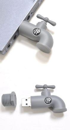 Abre la llave de la información con este divertido Dispositivo USB. #RifelTech