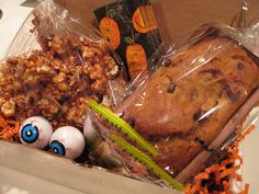 Trick or treat care package (Burrell) by about college, via Flickr