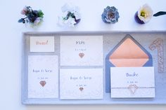 Hochzeit: Rosegold   #Hochzeitseinladungen