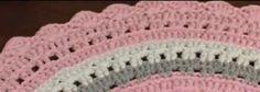Pretty Carpet Pattern Step by Step - Mariatrapillo - carpes Crochet Bolero, Crochet Doilies, Crochet Carpet, Crochet Rug Patterns, Patterned Carpet, Love Crochet, Diy And Crafts, Quilts, Blanket
