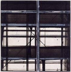 2013 EXPO Preview - Brice Marden Card Drawing, 1983 Ink on silkscreen on paper 5 7/8 x 5 7/8 in.  14.9 x 14.9 cm