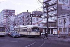 Finales de 1970 Av. Cuauhtemoc cruce con Dr. Velasco.