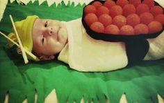 Il figlio di Tori Spellin per #Halloween #scarypaper  http://paperproject.it/fashion/kids/halloween-dieci-travestimenti-cool-baby-star/