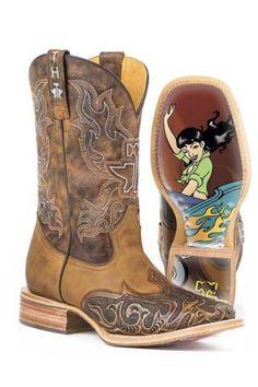 Tin Haul Smokin Hot Cowboy Boots Urban
