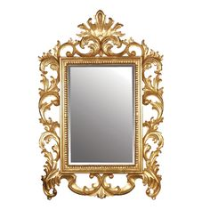 Turner gold mirror Ornate gold framed mirror Mirror you smile