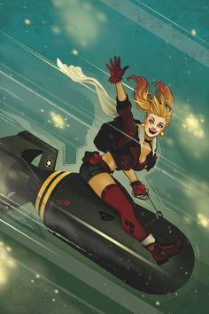 DC_COMICS_BOMBSHELLS_4 : Envíos dos veces en noviembre!  En un hospital de Londres, un paciente extraña tiene un mensaje para el Dr. Harleen Quinzel ... una que lleva al médico para secuestrar un avión fuera de la ciudad!  Y, Supergirl y Stargirl llevan un bombardeo, sólo para descubrir un terrible secreto que los deja cuestionar sus lealtades.  Además, Batwoman llega a Italia, donde se encuentra con Contessa Selina Digatti-aka la Catwoman!   masacre80