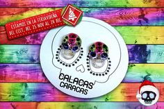 Ven y podrás llevarte estos hermosos zarcillos de nuestra línea Candy  Te esperamos! Aquí en la #Feriavideña.  #CalacasCaracas  Pedidos vía whatsapp [ver perfil]