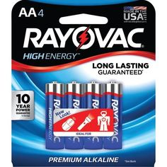 Now available from Bargains Delivered!  RAYOVAC 815-4J AA... at http://www.bargainsdelivered.com/products/rayovac-815-4j-aa-alkaline-batteries-4-pk?utm_campaign=social_autopilot&utm_source=pin&utm_medium=pin