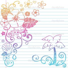 depositphotos_2772201-Sketchy-Tropical-Summer-Vacation-Notebook-Doodles.jpg (1024×1024)