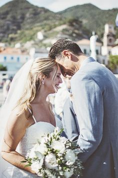 Wedding Ceremony | Bride in Lace Wedding Dress | Groom in Blue Blazer | Outdoor Italian Wedding at Minori on the Amalfi Coast Planned by La Calla Events | On Love and Photography Wedding Ceremony, Lace Wedding, Asos Bridesmaid, Wedding Suits, Wedding Dresses, Greenery Decor, Father Of The Bride, Groom Dress, Amalfi Coast