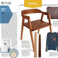 """""""Thrilled to see our Dining Chair featured in Western Living Magazine! Thanks @westernliving"""""""