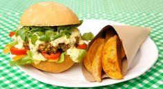 Sauce burger