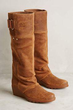 Sorel Toronto Wedge Boots - anthropologie.com