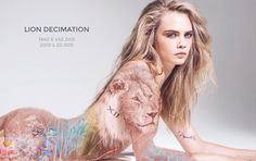 Cara Delevingne's Anti-Poaching Campaign Empowers Animals and Women, Somehow