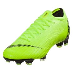 Nike Mercurial Vapor XII Elite FG Soccer Cleat Volt Black-13 Superfly, Black 7cbda305b0d6