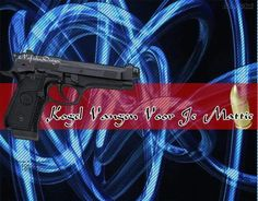 #NafishaDesign Kogel Gun Vangen Mattie
