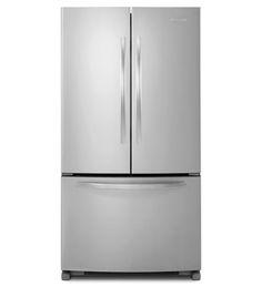 KitchenAid® 25 Cu. Ft. Standard-Depth French Door Refrigerator, Architect® Series II (KBFS25EWMS Stainless Steel) |