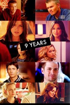 9 years....i don't like how they late Haley look like she fell apart. She is a strong woman and she deserves to look that way!