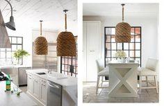 Cestini lampadari Ceiling Lights, Lighting, Interior, Table, Furniture, Home Decor, Decoration Home, Light Fixtures, Room Decor