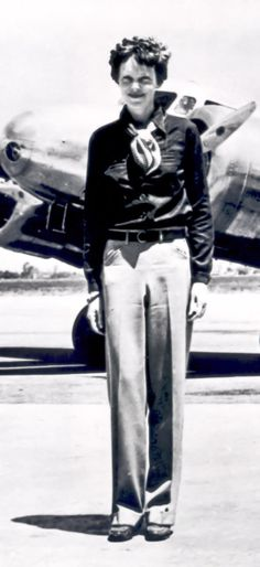 Amelia Earhart - On January 11, 1935, she became the first pilot, male or female, to fly from Hawaii to Oakland, CA. - Photo: Getty Images