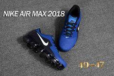 online store c496f 387bc Nike 2018 KPU +5 Nike Air Vapor MAX 2018 +5 KPU Men Black Royal Blue 40-47