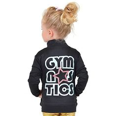 Stretch Is Comfort Girl's Glitter Gymnastics Jacket Blush Pink Small - Brought to you by Avarsha.com