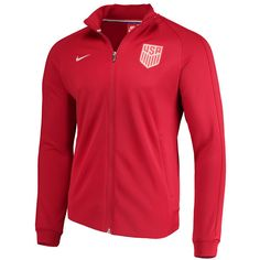 US National Team Nike N98 Full-Zip Track Jacket - Red/Silver 2