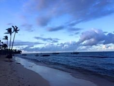 A breathtaking shot of our beach at Dreams Palm Beach Punta Cana thanks to Gillian S.!