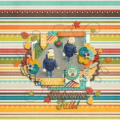 Scrapbook Layout by Gemma All Year Round: Jubilations by Traci Reed and Jady Day Studio