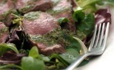 Steak with Piquant Italian Salsa Verde