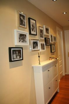 1000 images about decorar pasillos on pinterest - Ikea pintura paredes ...