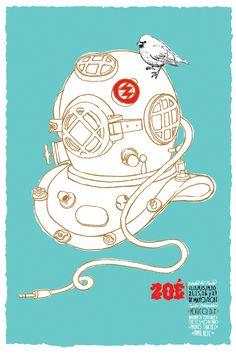 Zoé Posters Metropolitan by Alfredo Conrique, via Behance