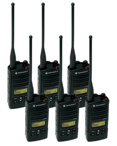 6 Pack of Motorola Two way Radio Walkie Talkies: 6 Pack of Motorola two-way radios. Each of our radios comes complete with factory default programming, a single-unit charger, hour lithium ion battery and belt clip. Derby, Two Way Radio, Band Shirts, 6 Packs, Car Audio, Walkie Talkie, Coupons, Packing, Discount Makeup