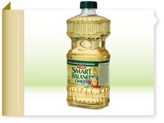 Smart Balance® Cooking Oil - Made from a blend of canola, soy and olive oils for healthier sautéing, frying and baking. Plus, cholesterol & ALA Fat Foods, Healthy Foods, Healthy Recipes, Omega Oils, Olive Oils, Cooking Oil, Cholesterol, Gluten Free, Nutrition