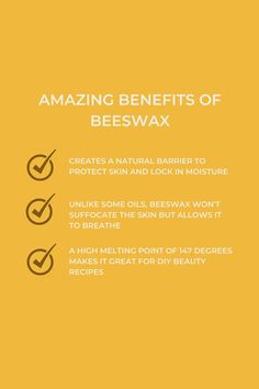 Bees Wax Lip Balm, Melting Point, Natural Honey, Tomorrow Will Be Better, Beeswax Candles, Beauty Recipe, Say Hi, Diy Beauty, Breathe