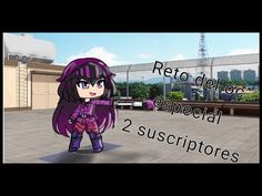 Reto del oc y especial 2 sascriptores Music Library, Artist, Youtube, Anime, Artists, Cartoon Movies, Anime Music, Youtubers, Animation