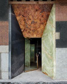 Door Design, Exterior Design, Interior And Exterior, Commercial Design, Commercial Interiors, Architecture Details, Interior Architecture, Hotel Door, Entrance Doors