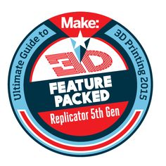 """We have #MakerBot 3D printers in stock, including the Replicator 5th Gen, named """"Feature Packed"""" by our editorial team in the latest """"Ultimate Guide to 3D Printers."""""""