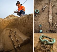 Celtic warriors and wives of ancient Gaul discovered in Iron Age graveyard near Paris French archaeologists have unearthed the remains of 5 Celtic warriors and several women in a 2,300 year-old cemetery on the outskirts of Troyes, southeast of Paris. The site, a farmer's field destined to become an industrial warehouse, is yielding a stunning array of Iron Age finds from the ancient civilisation of Gaul.